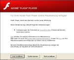 Adobe Flash Player Updatefenster