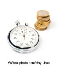 Zeit ist Geld - ©iStockphoto.com/Mny-Jhee