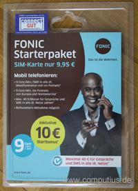 Ein FONIC Starterpaket