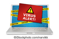 Virus Alert! - iStockphoto.com/narvikk