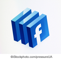Facebook Logo - ©iStockphoto.com/pressureUA